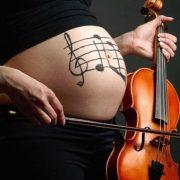 μουσική στην εγκυμοσύνη