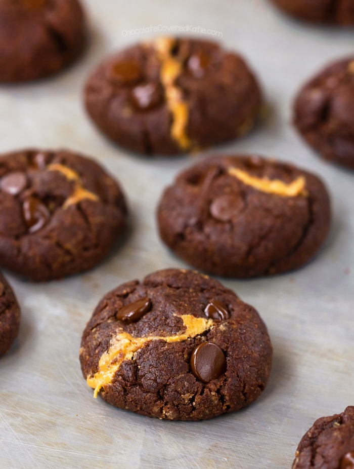 peanut-butter-chocolate-cookies