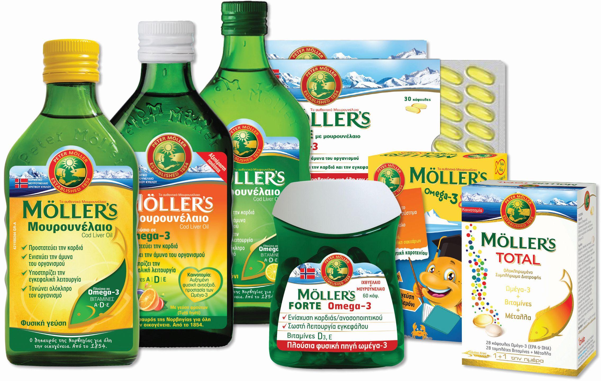 μουρουνέλαιοMOLLER'S