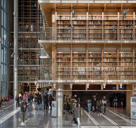 Πύργος Βιβλίων της Εθνικής Βιβλιοθήκης της Ελλάδος ©EBE_Νίκος Καρανικόλας