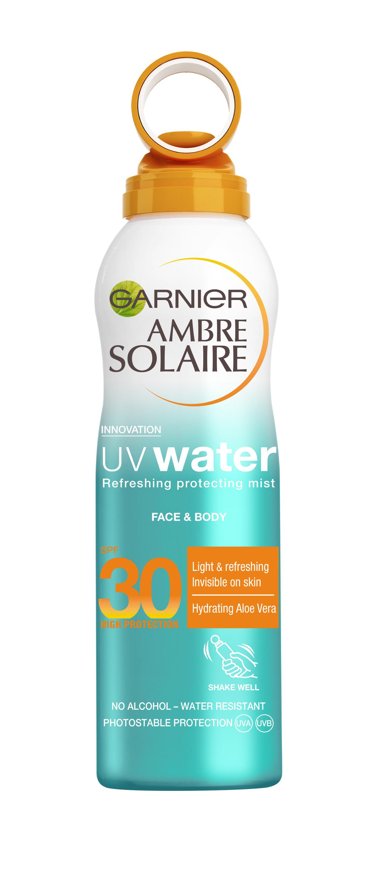 GARNIER AMBRE SOLAIRE - UV WATER MIST SPF30