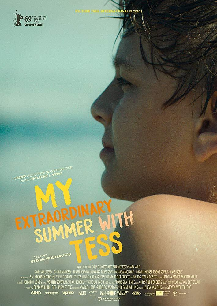 My extraordinary summer with Tess_poster