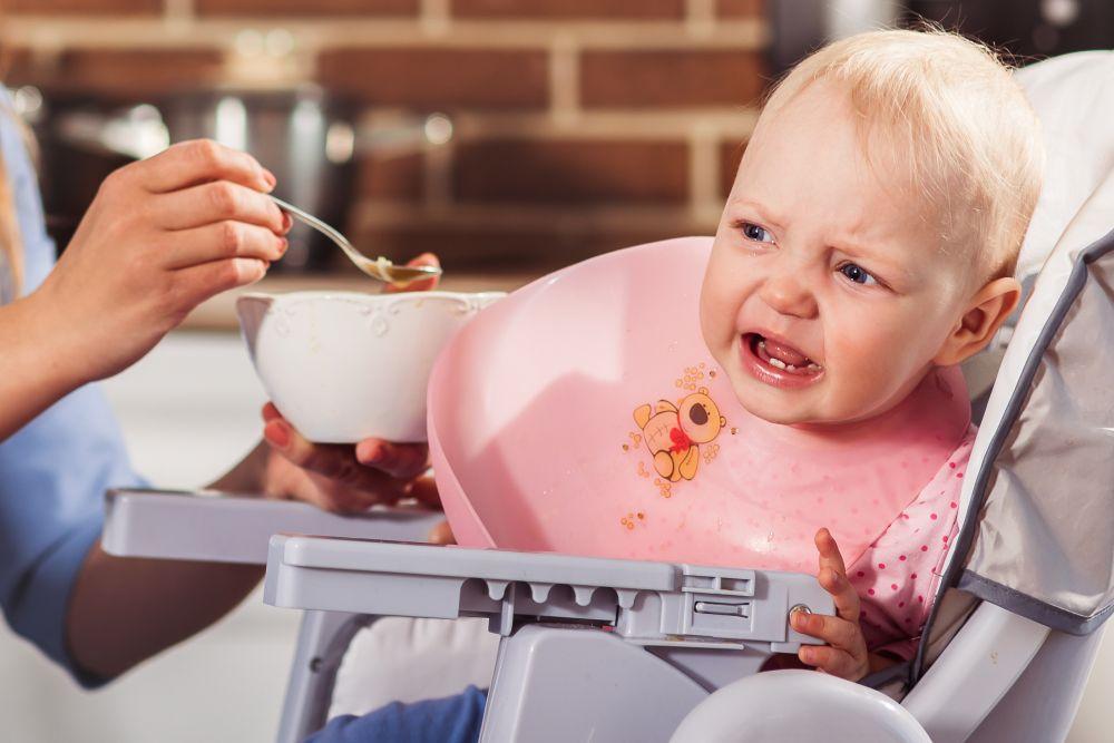 το μωρό δεν τρώει