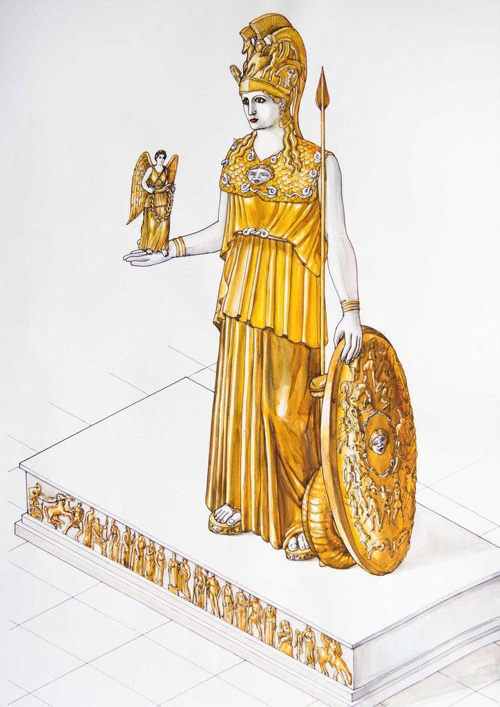 To-Xαμένο-Άγαλμα-της-Αθηνάς-Παρθένου - Αντίγραφο