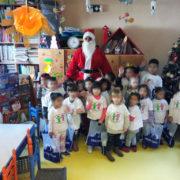 Επίσκεψη της FREZYDERM και του Άι-Βασίλη στον Παιδικό Σταθμό «Οι φίλοι του Παιδιού»