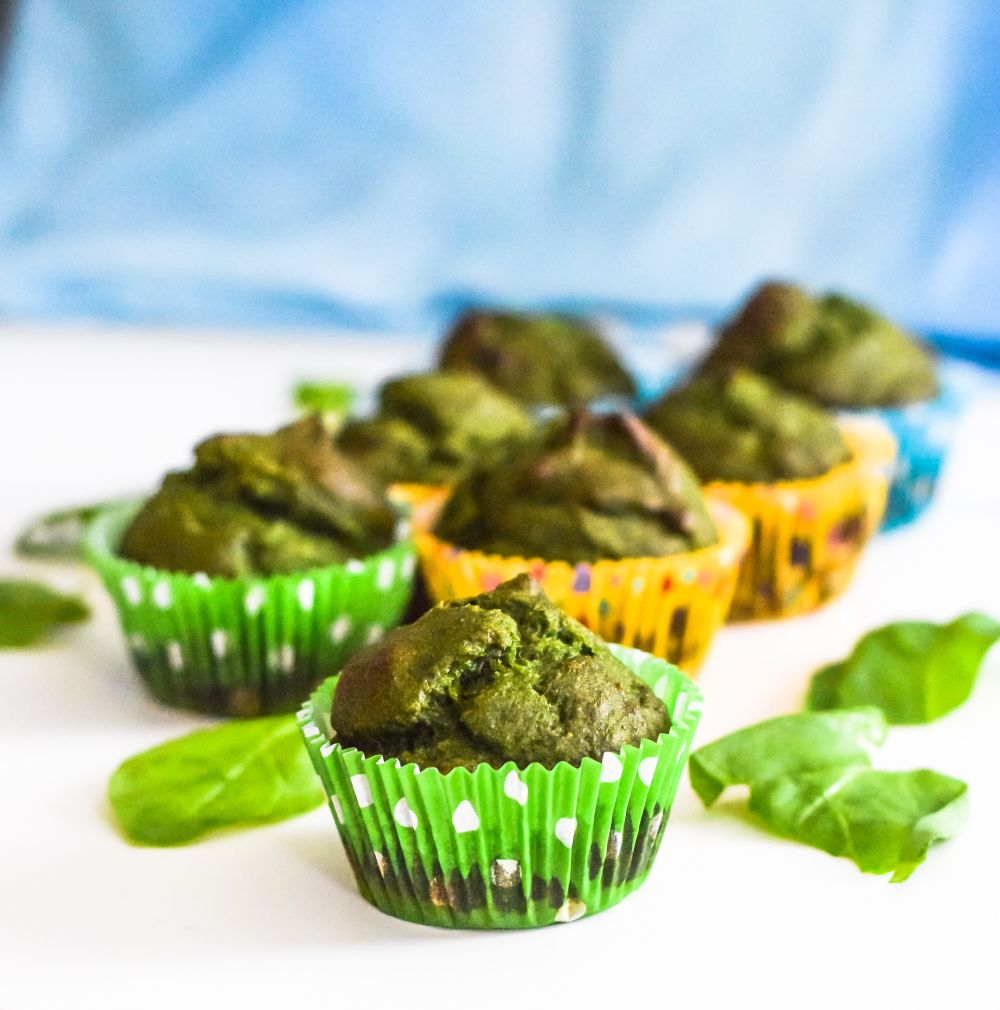 Muffinsμε σπανάκι
