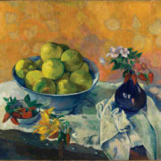 Paul Gauguin (1848-1903) Nature morte aux Pamplemousses Νεκρή φύση με γκρέιπ φρουτ Still Life with Grapefruits 1901 ή 1902 | 1901 or 1902 Λάδι σε καμβά | Oil on canvas  66 × 76.5 cm
