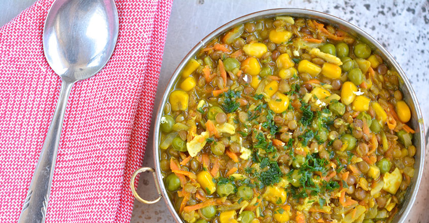 recipe-Brown-Lentil-Stew-with-Corn-and-Green-Peas