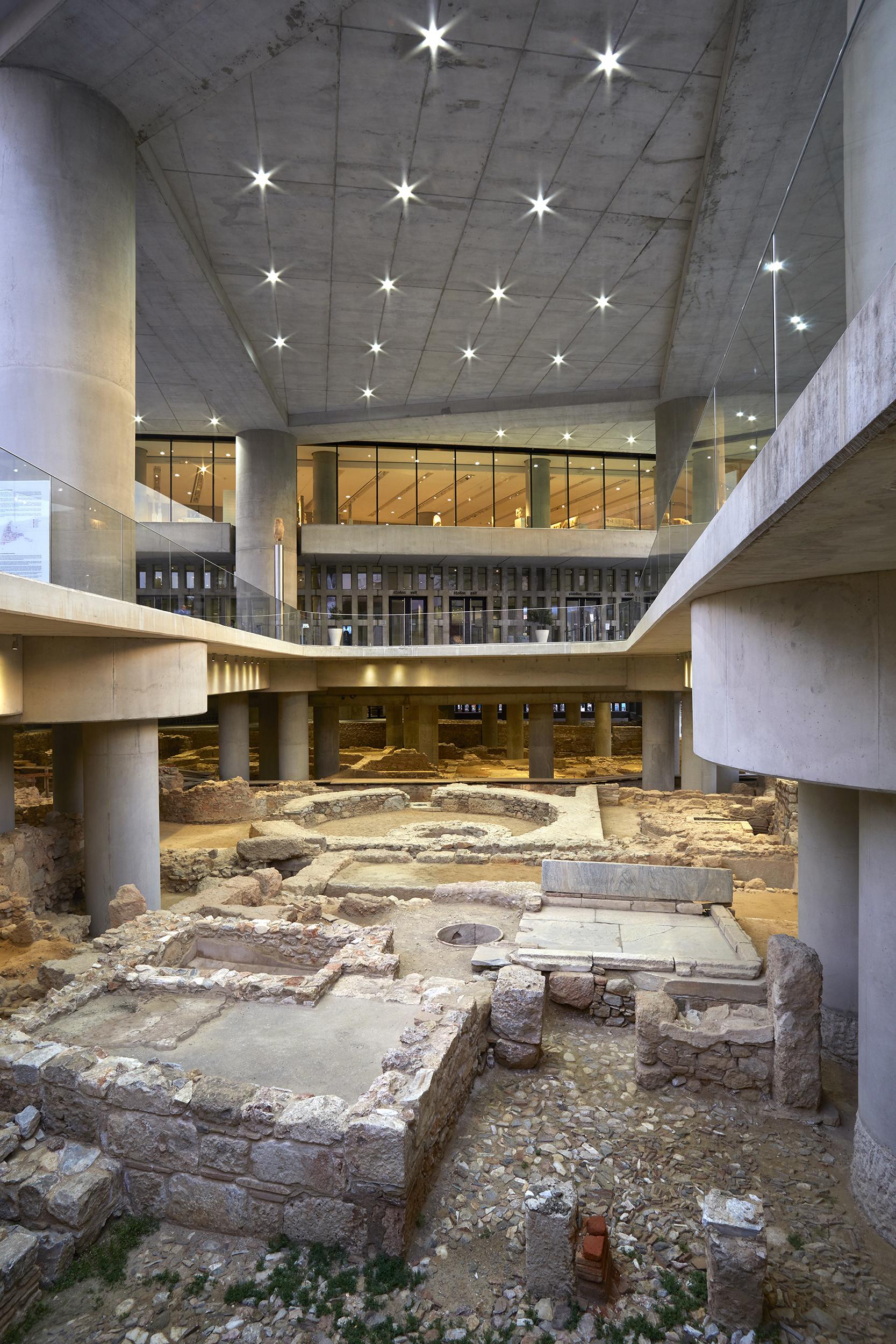 Η αρχαιολογική ανασκαφή © Μουσείο Ακρόπολης. Φωτογραφία Γιώργος Βιτσαρόπουλος