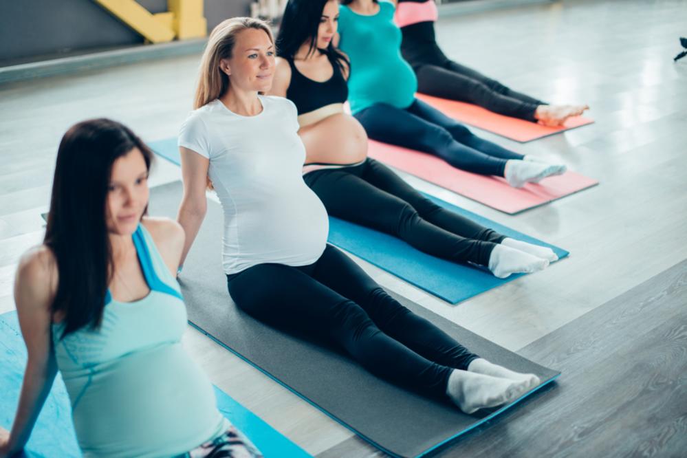 γυμναστική κατά τη διάρκεια της εγκυμοσύνης
