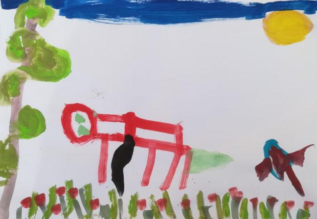 Χολέβας-Δημήτριος-Μιχαήλ-5-ετών-Ο-σκύλος-μου-ο-φίλος-μου-OPEN-CALL