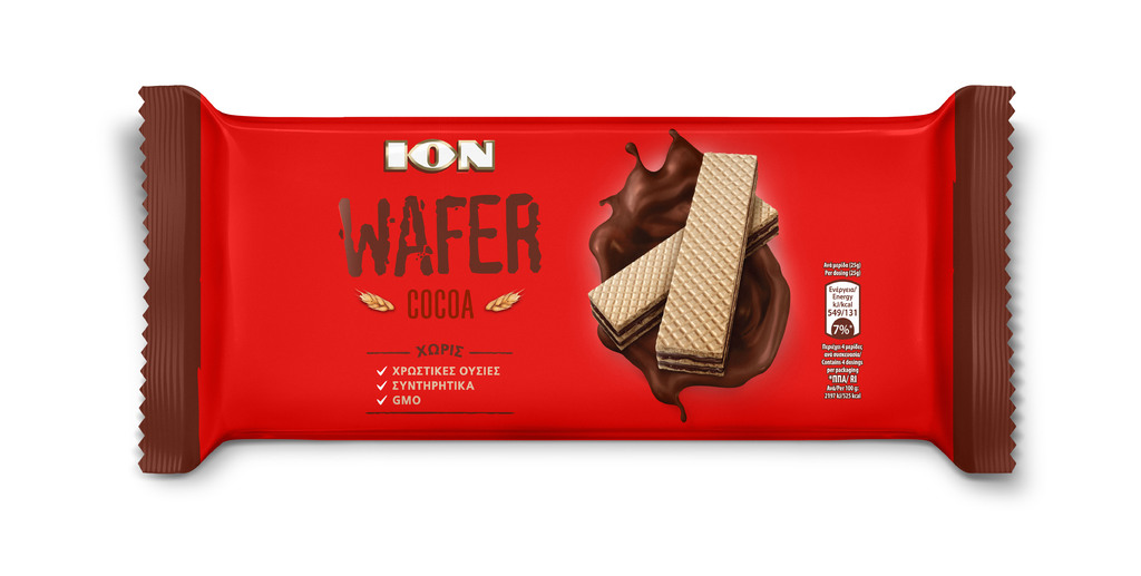 ION WAFER CLASSIC COCOA 100G