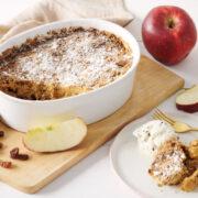 κέικ με αχλάδια και μήλα
