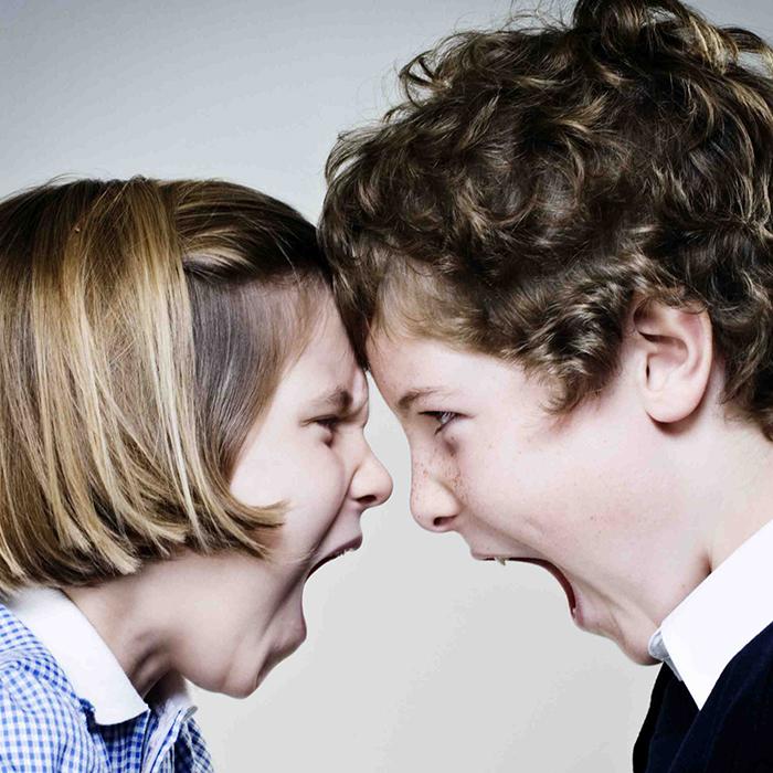 συγκρούσεις ανάμεσα στα αδέλφια